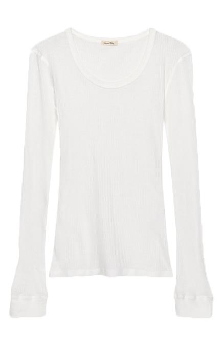 Image of American Vintage American Vintage T-shirt Riza12 Hvid