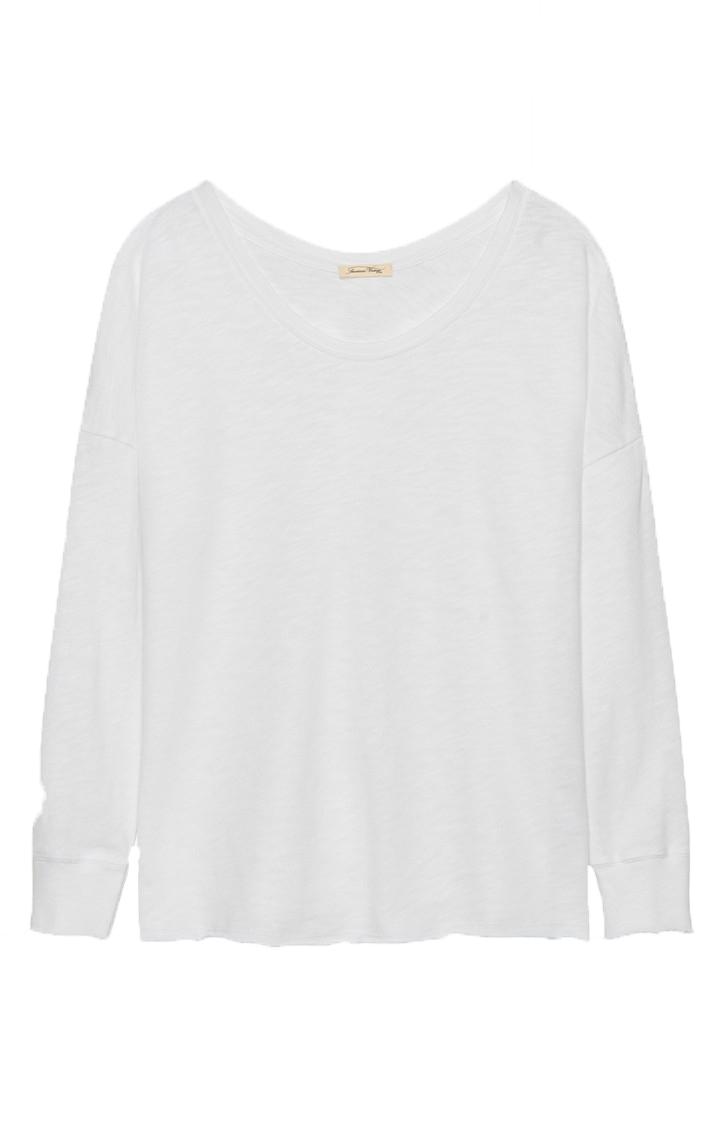 Image of American Vintage American Vintage Son36 T-Shirt Hvid