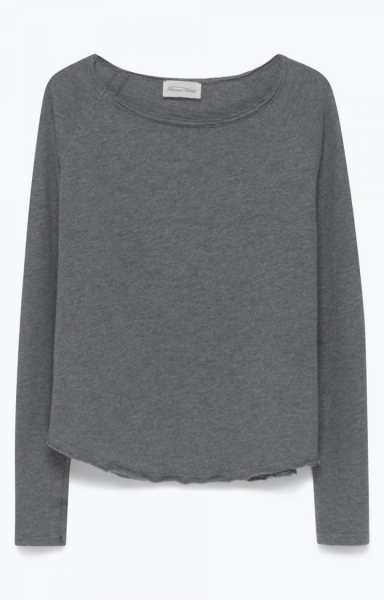 Image of American Vintage Son31 Tee-shirt, Gris Chine