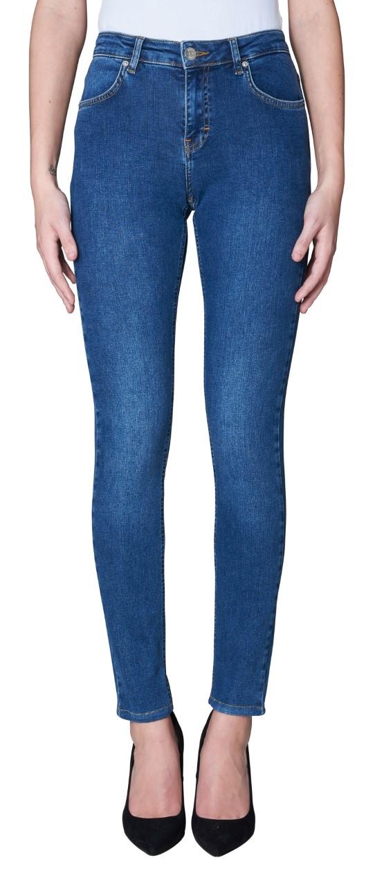 2ndone Nicole Jeans, Blue Indigo Flex