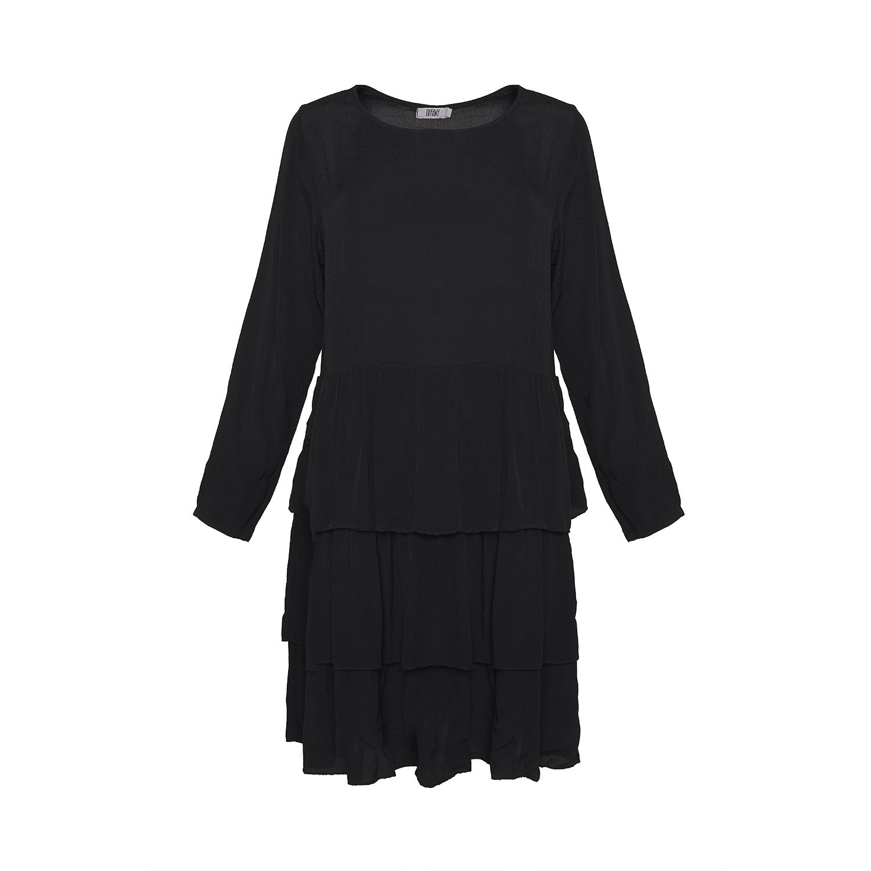 Image of   Tiffany 181130 Dress Viskose, Black