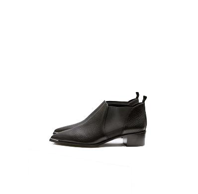 Image of   ACNE STUDIOS Jenny Shoes Grain, Black