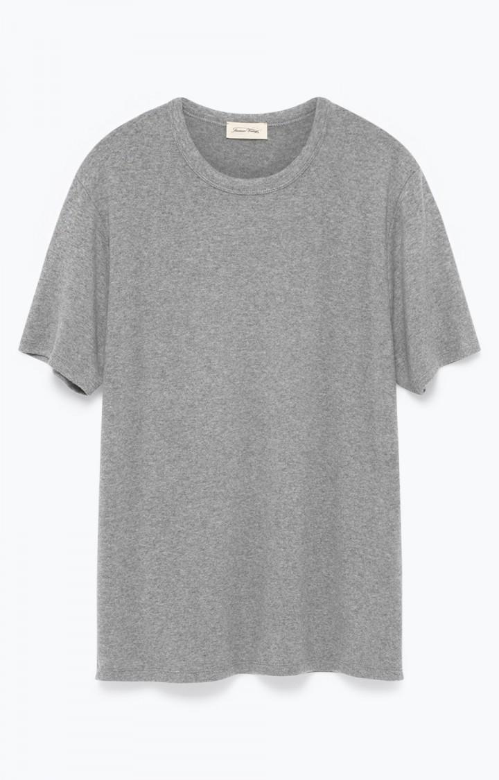 Billede af American Vintage T-Shirt M. Rund Hals, VET41C Gris Chine