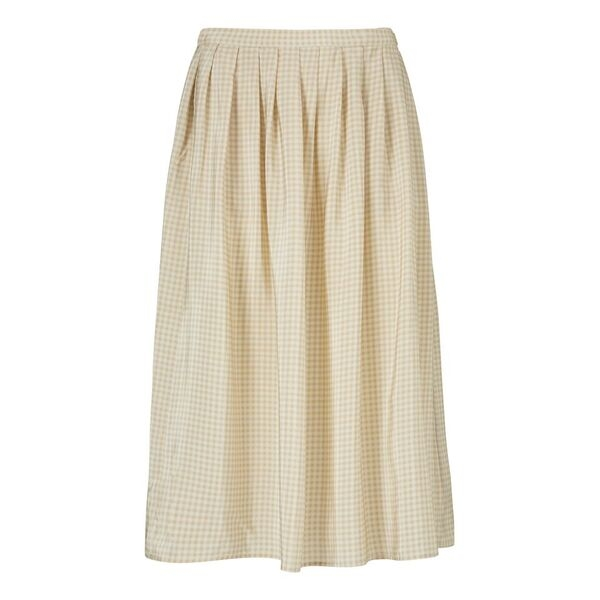 Image of   Kokoon Kokoon Vinnie Skirt, Sand Check