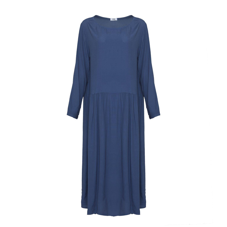 Image of   Tiffany 181016 Long Dress, Denim Blue