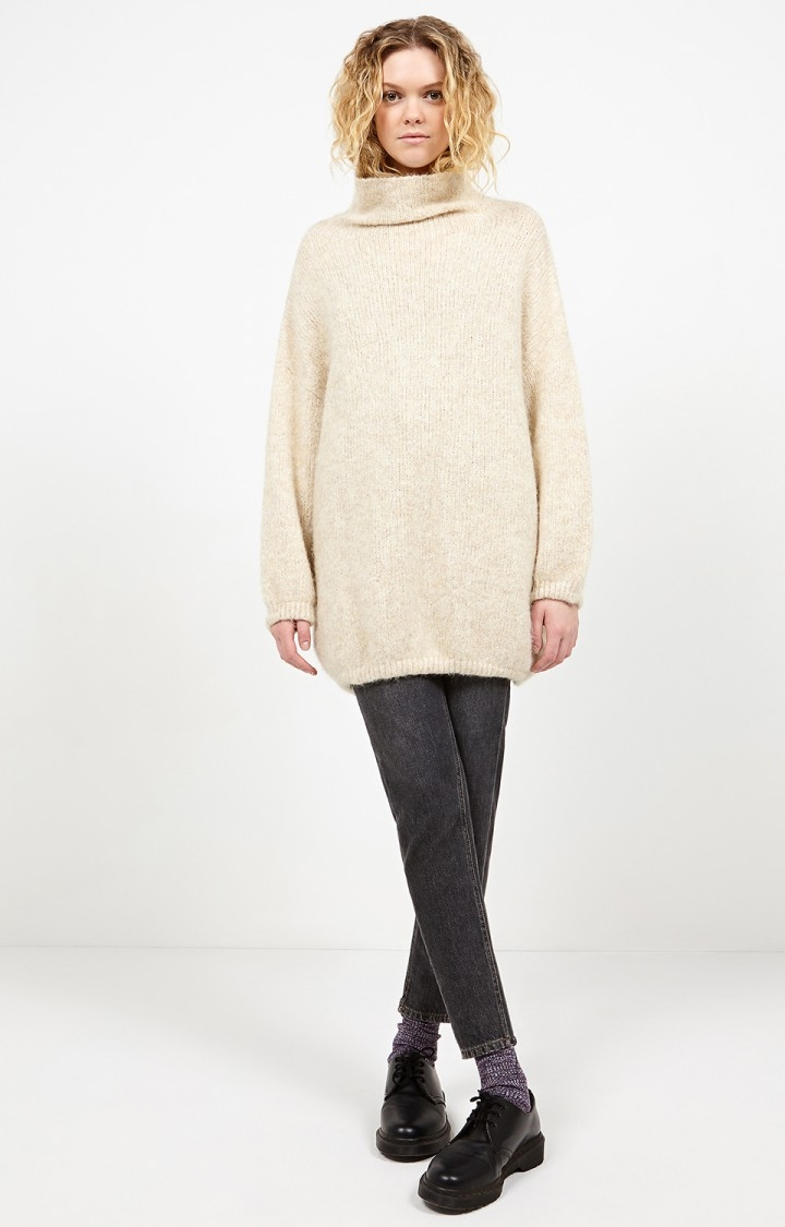American Vintage Zapitown Jumper Knit, ORGEAT CHINE